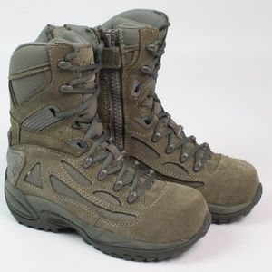 Converse unisex sage green combat boots